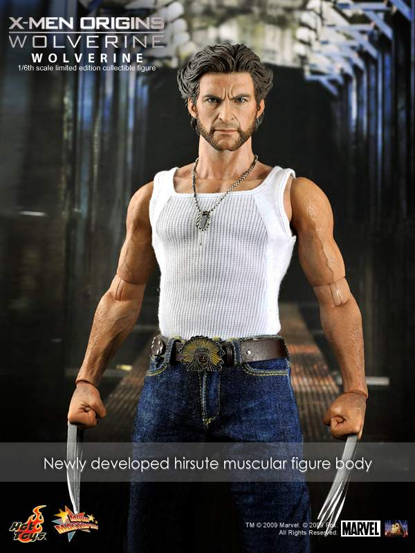 Hot Toys Mms 103 X Men Origins Wolverine 1 6th
