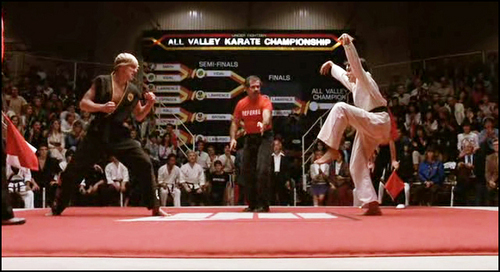 Karate Kid Kick Growing Up As A Colorg...