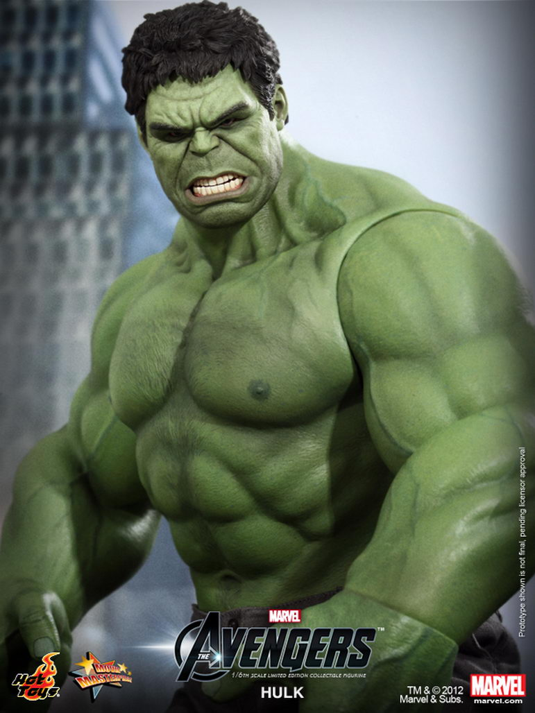 Hot Toys - The Avengers  1 6th scale Hulk Limited Edition Collectible    The Avengers Hulk Toys