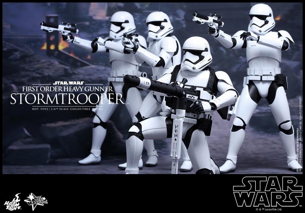 hot toys star wars the force awakens 1 6th scale first order stormtroopers collectible figures. Black Bedroom Furniture Sets. Home Design Ideas