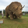 The Most Amazing Dinosaur Hay Sculptures You'll See All Week