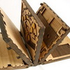 Wooden Book Makes You Solve Puzzles To Turn Pages