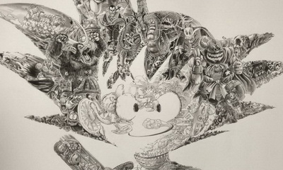 What's Hot: Ah Leung's Incredibly Detailed Dragonball Illustration