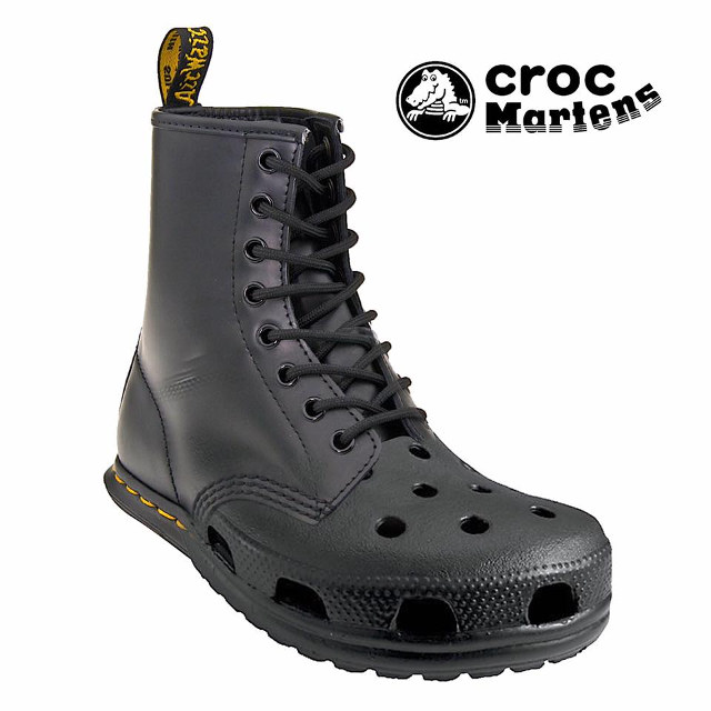 What If Crocs And Doc Martens Had A Baby Croc Martens