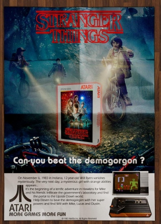 Stranger Things Atari 2600 Advertising by Martin Gendre.jpg