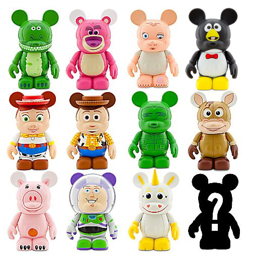 Toys For Disney : Toy story disney vinylmation collectible figures