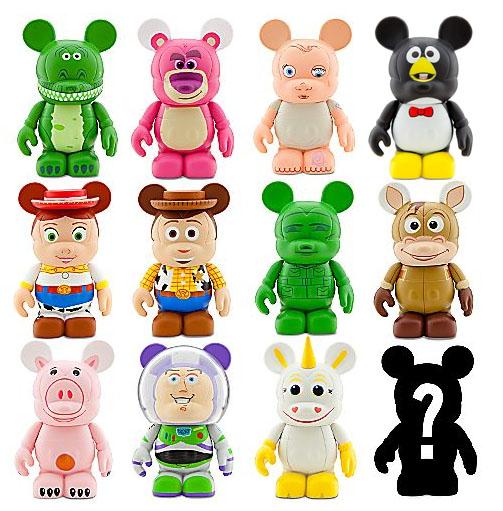 Disney Store Toys : Toy story disney vinylmation collectible figures
