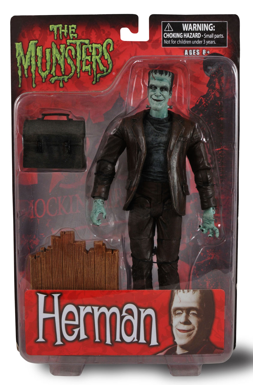 Carded Images Of Upcoming The Munsters Collectible