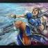 Lightening_Kick_by_Eric_Pineda_Street_Fighter_2_Press_Start_Continue_Ltd_Art_Gallery.jpg