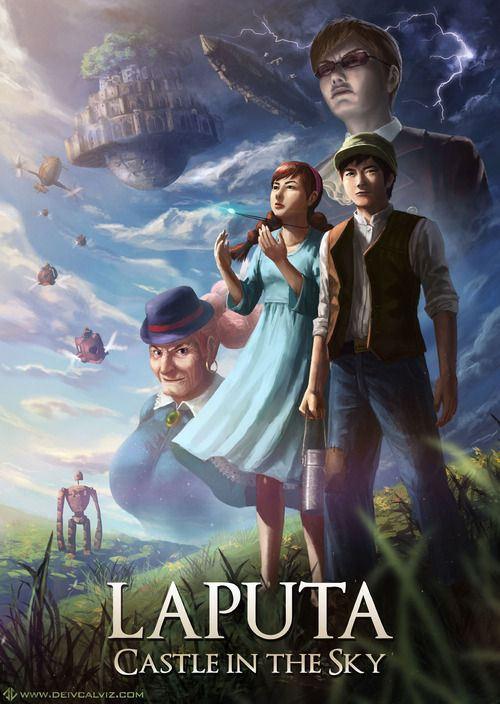 天空の城ラピュタ · Laputa: Castle in the Sky (Opening Credits ...