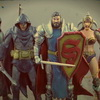 Sillof Gets Medieval On The Justice League With His New Dungeon League Custom Figures