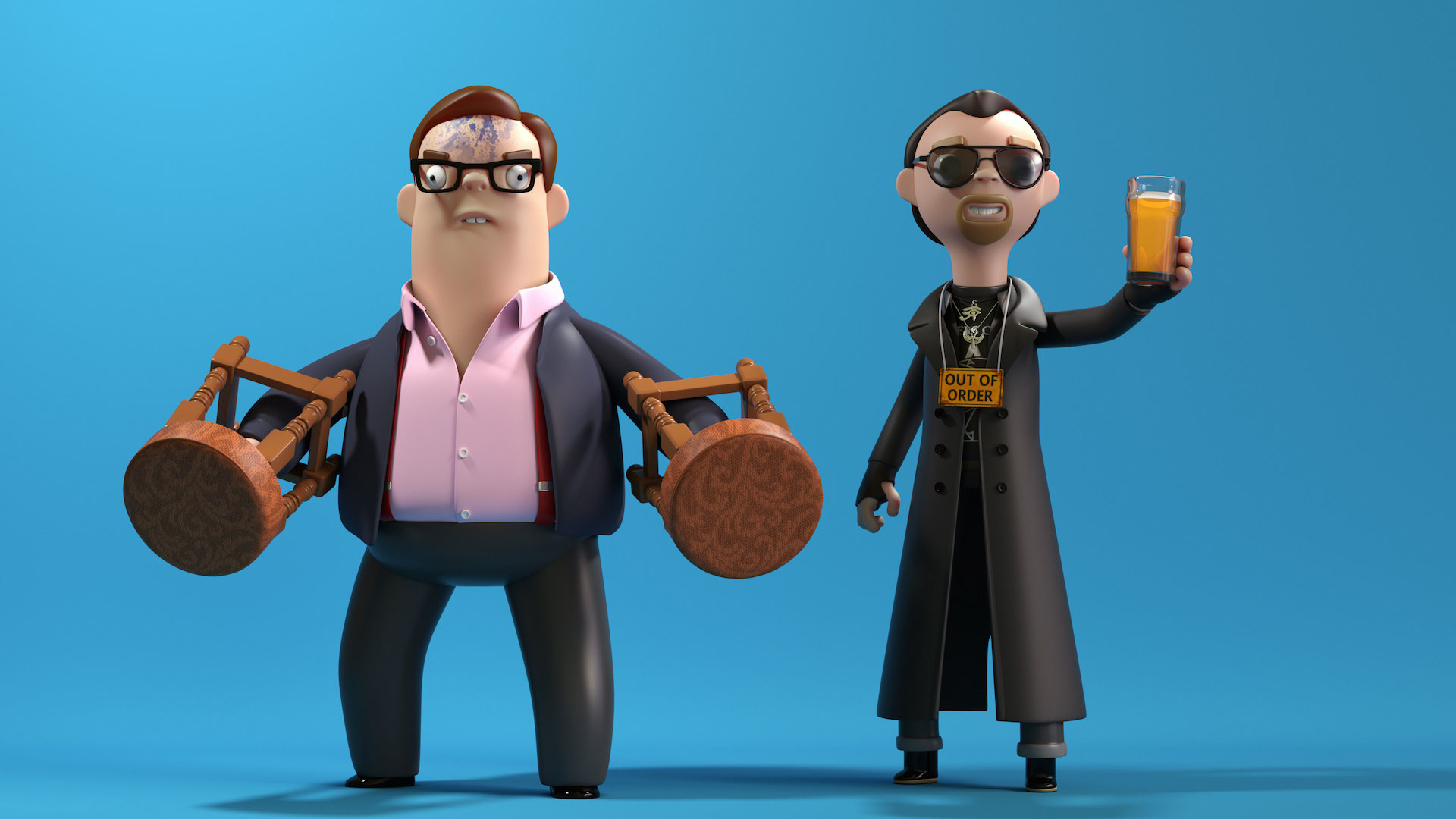The Shaun Of The Dead And The World S End Figures You Ve