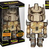 Funko's Hikari Sofubi Distressed and 24k Transformers Figures