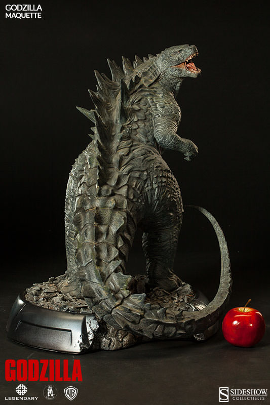 Sideshow Collectibles New 24 Inch Godzilla Maquette Ybmw