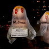 Burger King Dresses As The Ghost of McDonald's For Halloween