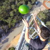 Specially Coated Watermelon Bounces After 150 Foot Fall