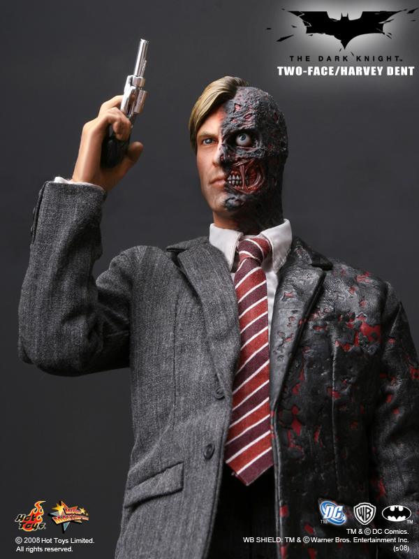 Hot Toys Two Face Review 83