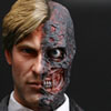 Hot Toys Two-Face/Harvey Dent 1/6th Scale Collectible Figure