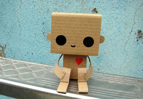 Сделать робота из картона своими руками 979