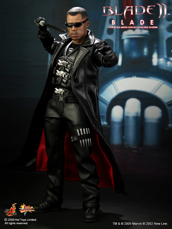 Hot Toys Mms113 Blade Ii 1 6th Scale Blade Limited Edition