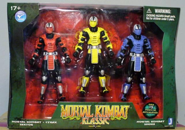 Jazwares New Images Of Mortal Kombat Klassic Figures