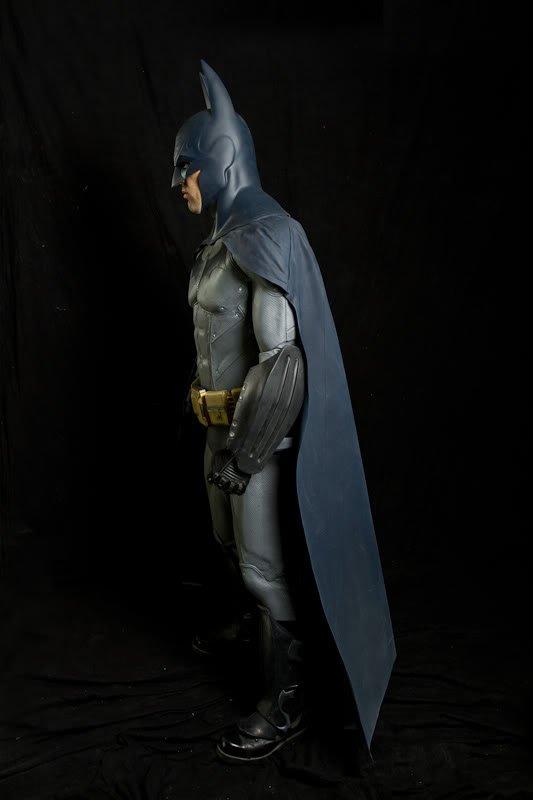 fx labs creates lifesize replica of �batman arkham city