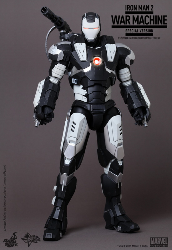 Hot Toys Iron Man 2 1 6th Scale War Machine Limited Edition