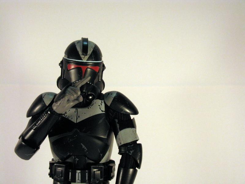 Sideshow Collectibles Star Wars 16th Scale Utapau Shadow Clone Trooper