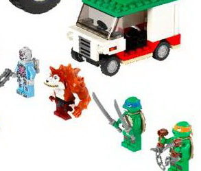 LEGO Announces Teenage Mutant Ninja Turtles