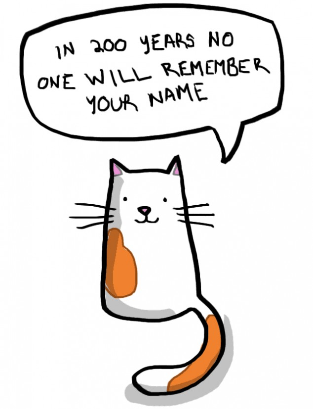 Hard truths about reality from cute cartoon cats ...