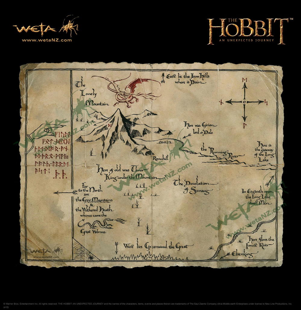 Weta Unveils Breathtaking New Hobbit Prop Relicas And