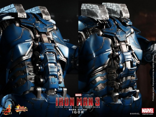 Hot Toys - Iron Man 3 -  Igor (Mark XXXVIII) Collectible Figure_PR15.jpg