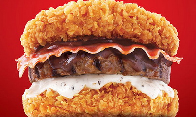 What's Hot: KFC Wants To Kill You With their New Zinger Double Down
