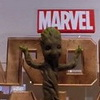 First Look Marvel's Official Singing and Dancing Baby Groot Toy