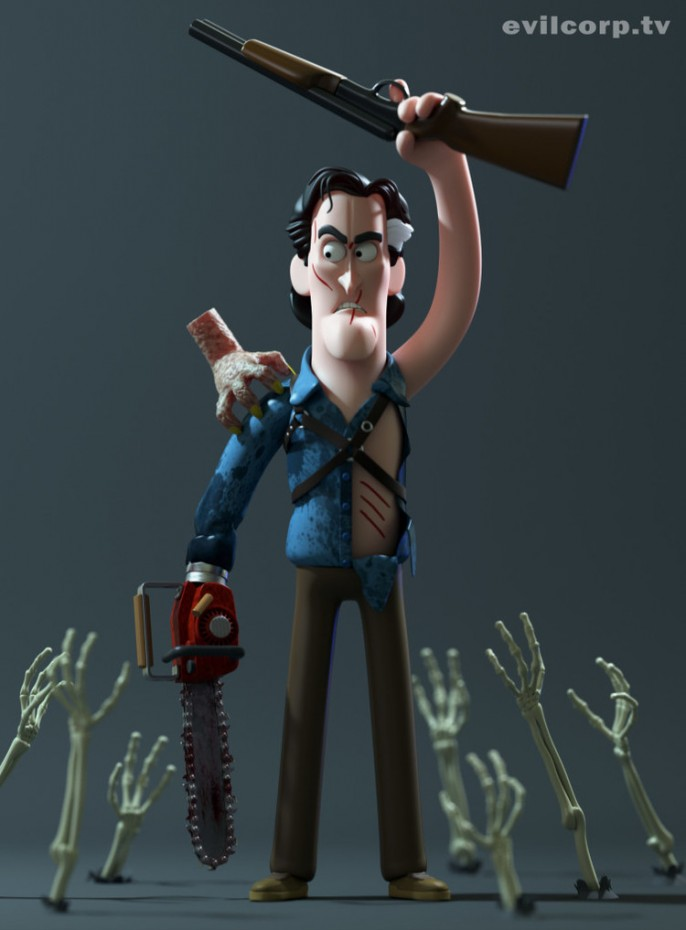 Evil Corp Unveils Vinyl Designs For Army Of Darkness The