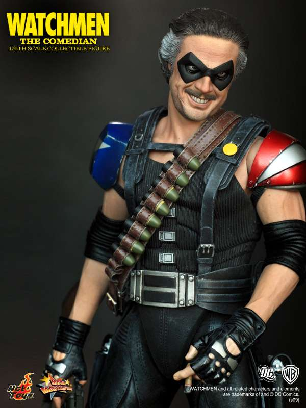 hot toys mms 115 watchmen 16th scale the comedian