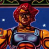 Time-Lapse Video Of Giant Thundercats Action Figures Oil Painting