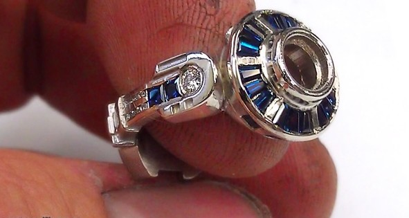 r2d2 ring 1jpg - R2d2 Wedding Ring