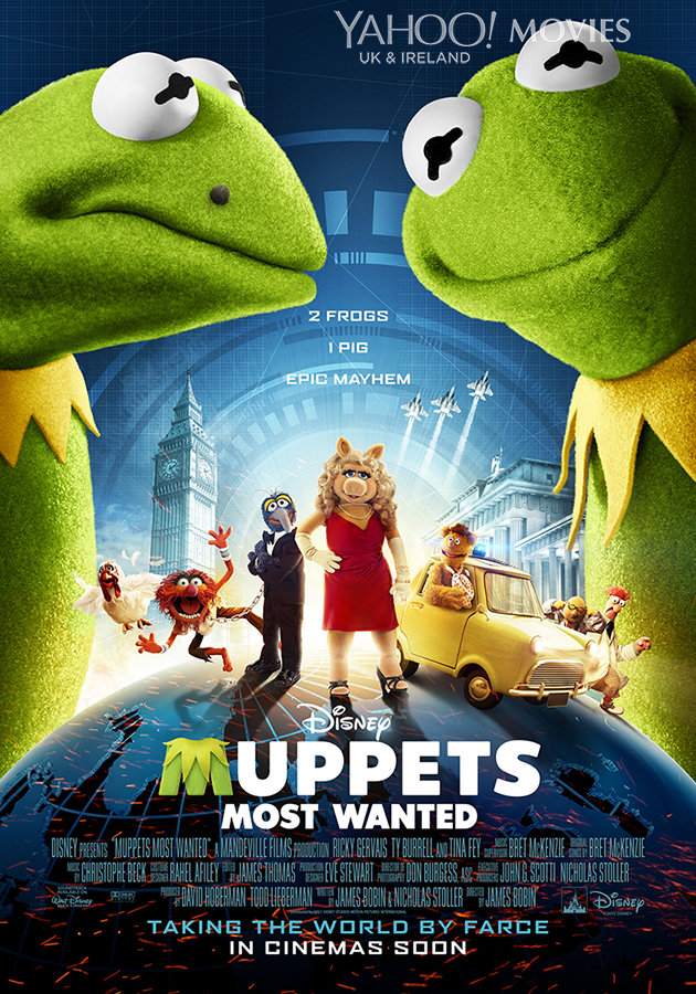 New Poster Released For THE MUPPETS MOST WANTED ...
