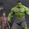 Hot Toys The Avengers: 1/6th Scale Bruce Banner and Hulk Collectible Figures Set