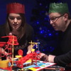 Check Out This Epic Holiday Rube Goldberg Machine