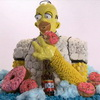 Homer Simpson Created From Junk Food
