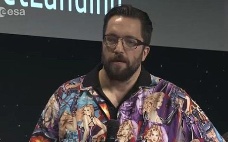 Political correctness taints comet landing as scientist for Matt taylor shirt buy