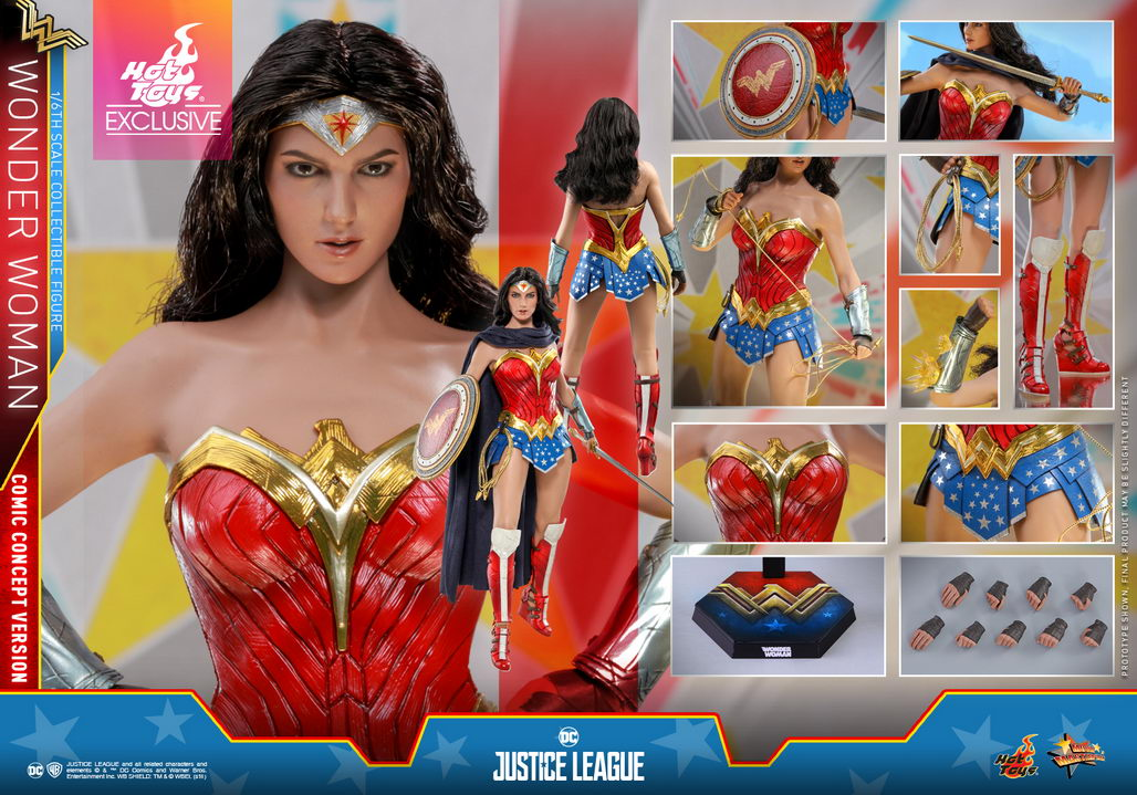 Hot Toys Justice League 1 6th Scale Wonder Woman Comic