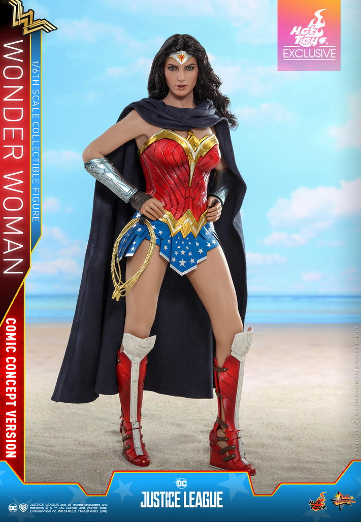 Hot Toys Justice League - 1/6th scale Wonder Woman (Comic ...