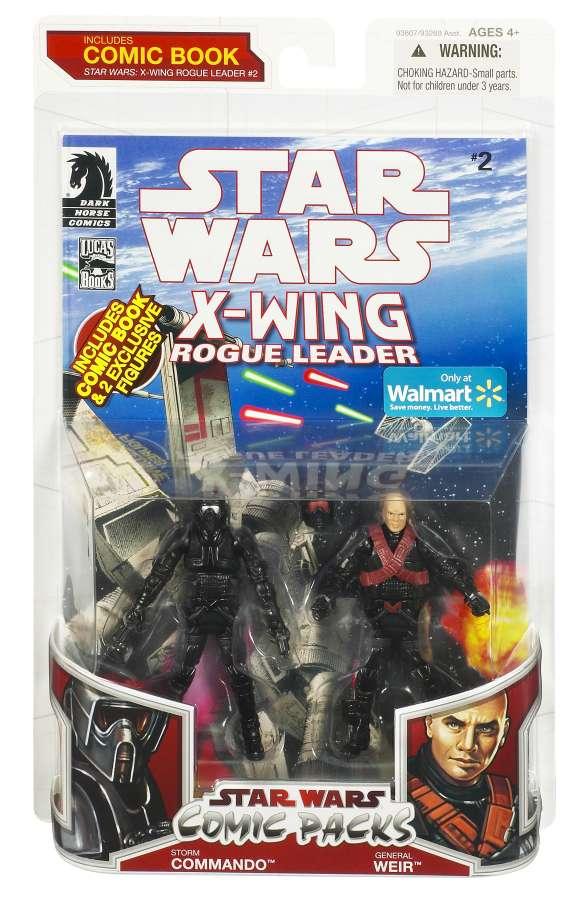 Star Wars Toys Walmart : New walmart exclusive star wars comic packs