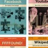 Vintage-style Covers For Nonexistent Books Of Popular Websites