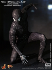 Hot Toys - Spider-Man 3 -  Spider-Man - Black Suit Version Collectible Figurine with Sandman Diorama Base_PR1.jpg
