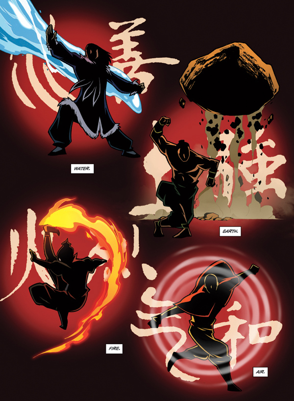 Avatar the last airbender comic book sequel 6 page preview