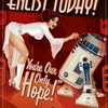 These Sexy Star Wars Recruitment Posters Make It Hard To Choose Between The Empire And The Rebels